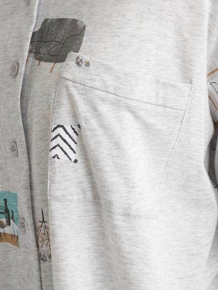 インテリアモチーフシャツ | PWCT211257