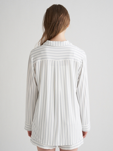 【MINT collection】ストライプシャツ&ショートパンツSET | PWCT211383