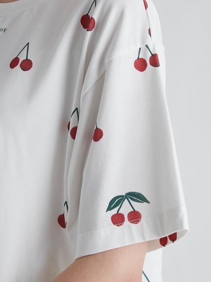 チェリーモチーフTシャツ | PWCT212204