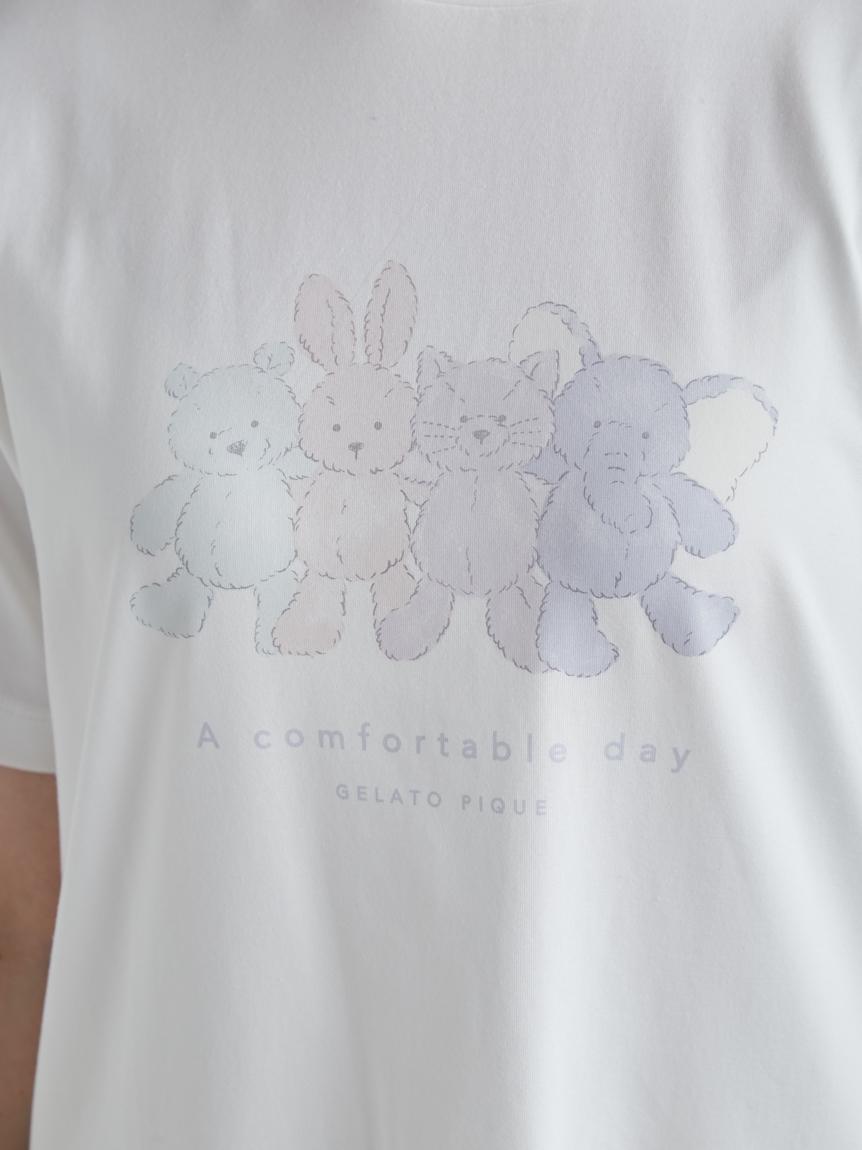 ぬいぐるみワンポイントTシャツ | PWCT212208