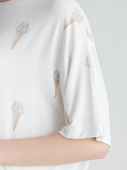 ジェラートモチーフTシャツ | PWCT212215