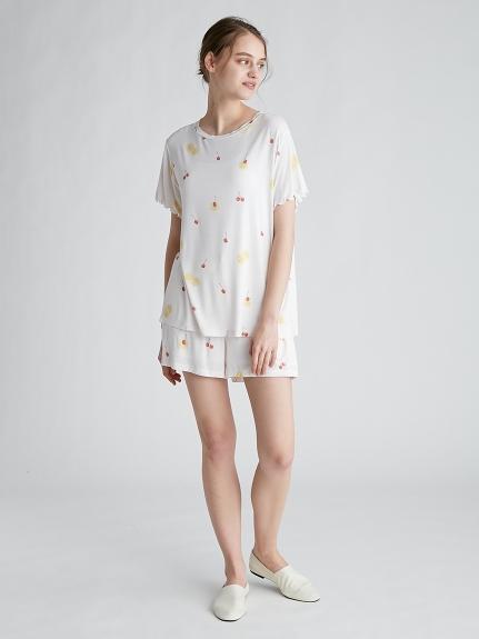 フルーツモチーフTシャツ   PWCT212231