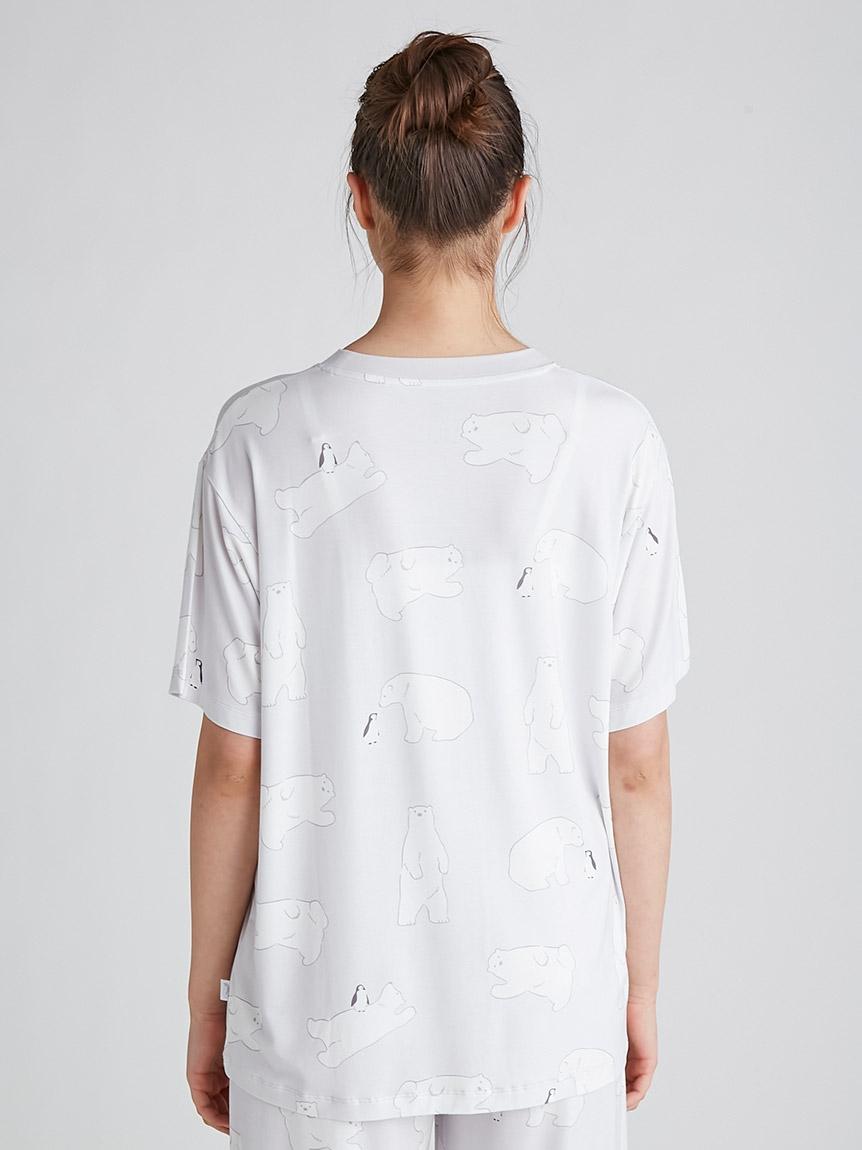 【COOL FAIR】シロクマモチーフTシャツ | PWCT212239