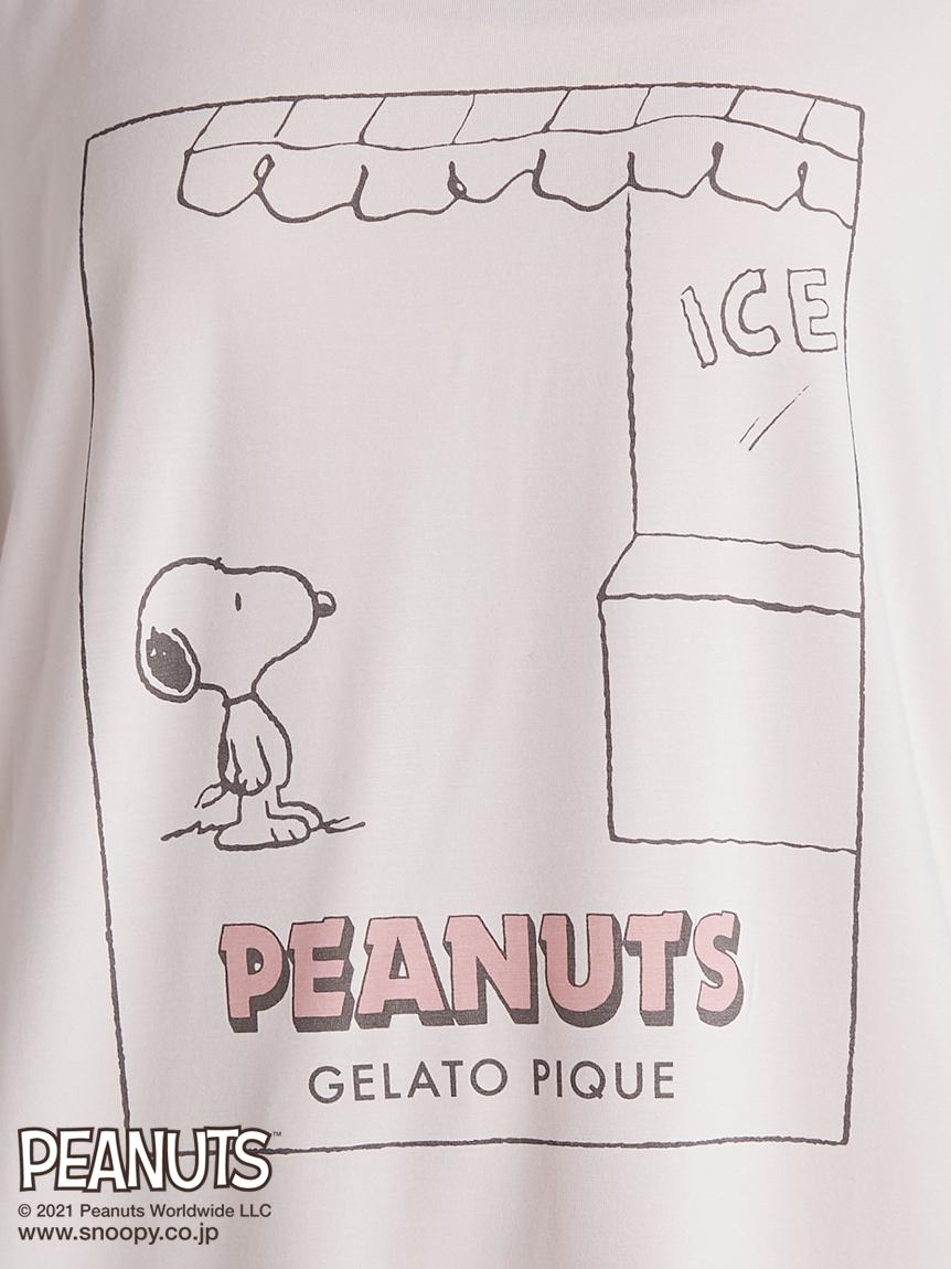 【PEANUTS】ワンポイントTシャツ | PWCT212290