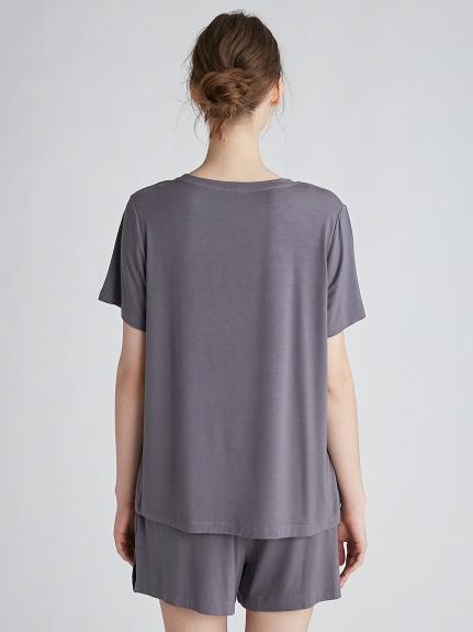 レーヨンロゴTシャツ   PWCT212333