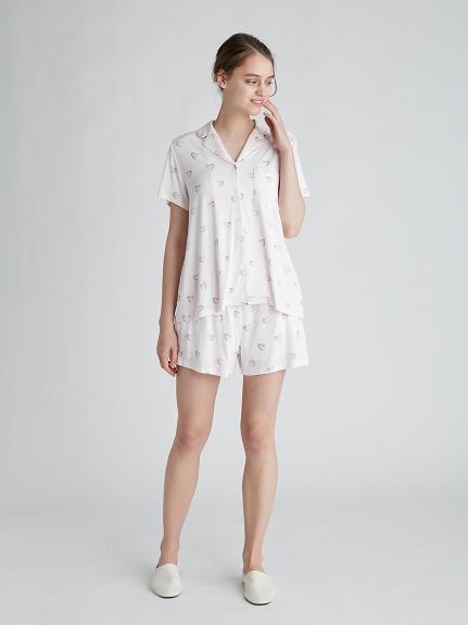 ハートモチーフシャツ | PWCT212343