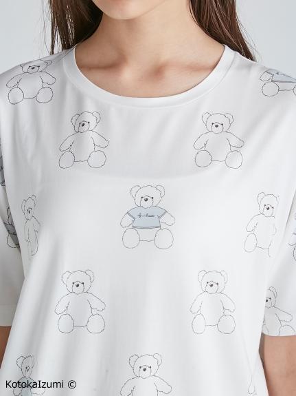 【kotoka izumi】ベアモチーフTシャツ | PWCT212357