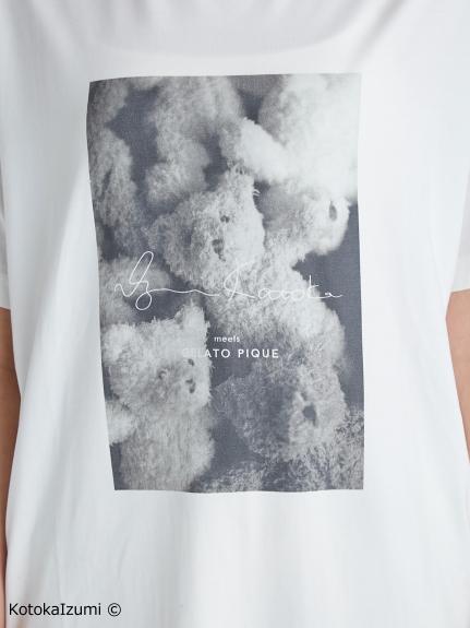 【kotoka izumi】ベアワンポイントTシャツ | PWCT212362