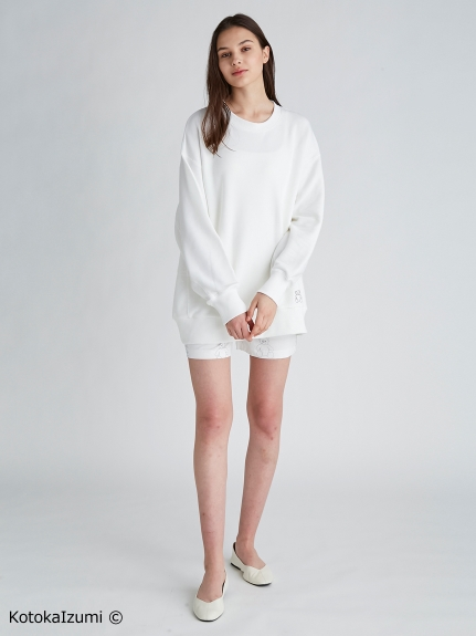 【kotoka izumi】ベア刺繍プルオーバー | PWCT212363