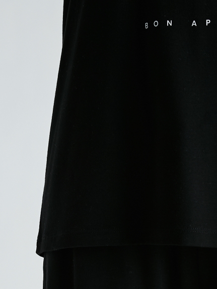 【Joel Robuchon & gelato pique】テンセルシルクロゴTシャツ | PWCT212371