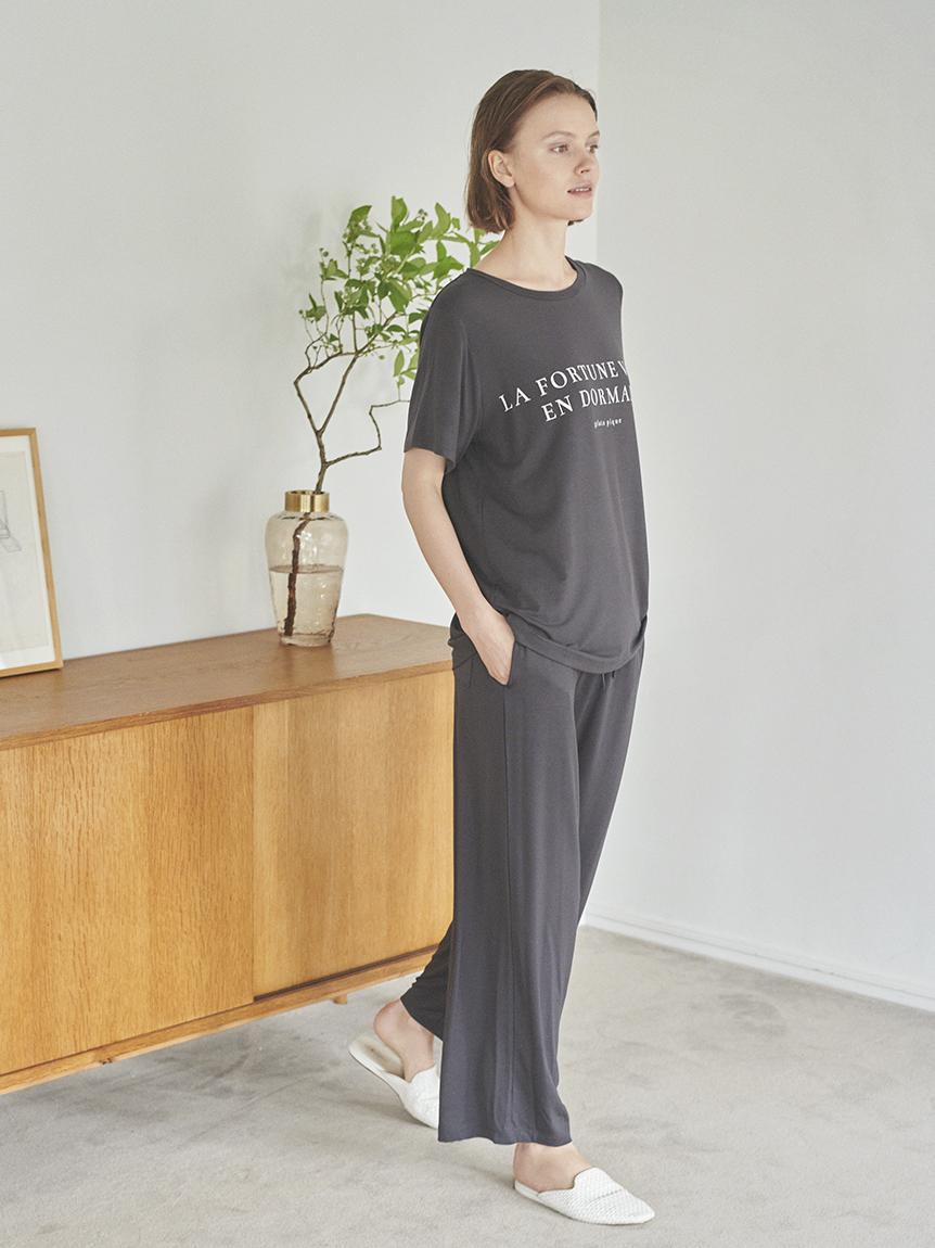 レーヨンロゴTシャツ | PWCT214205