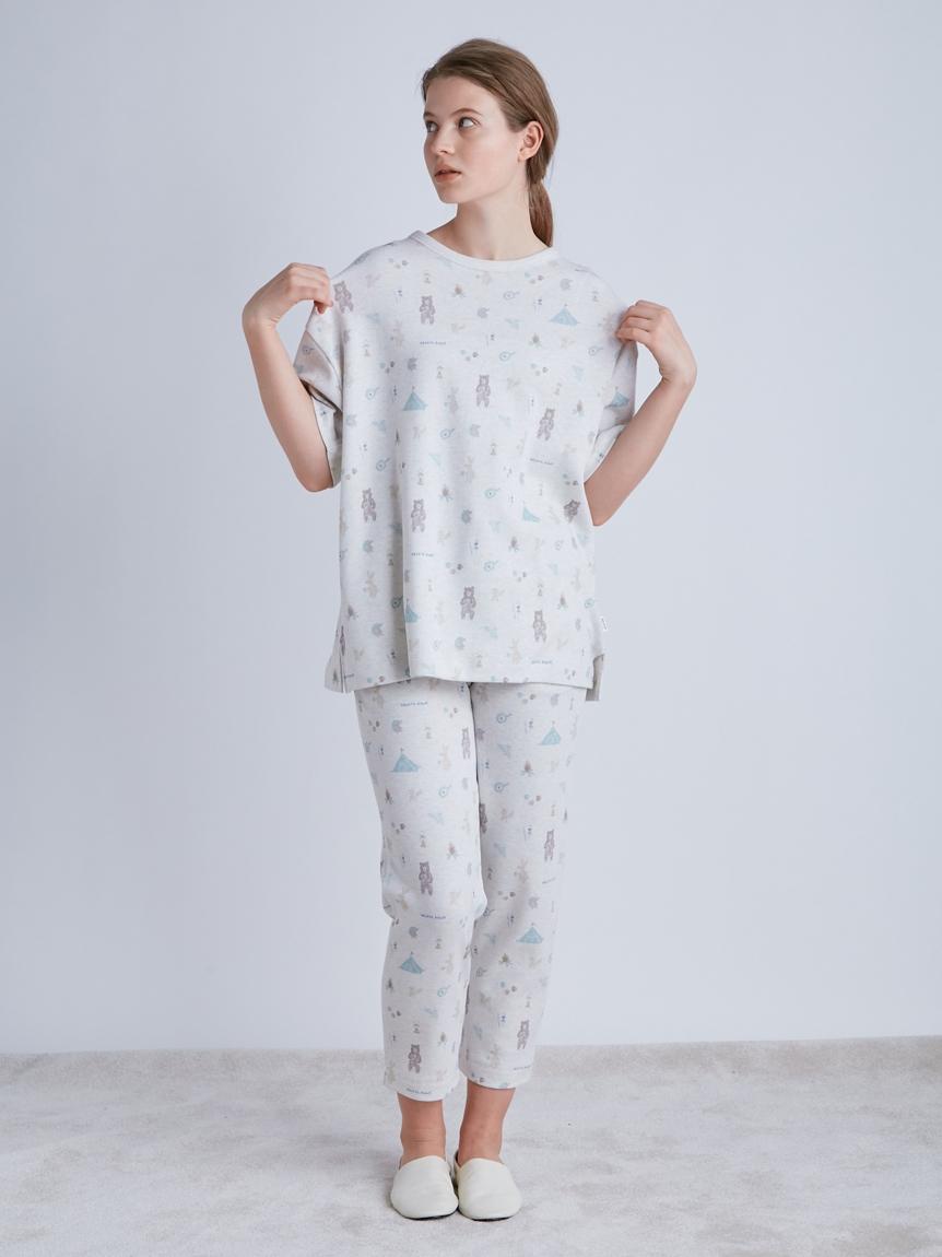 アニマルキャンプモチーフTシャツ | PWCT214209