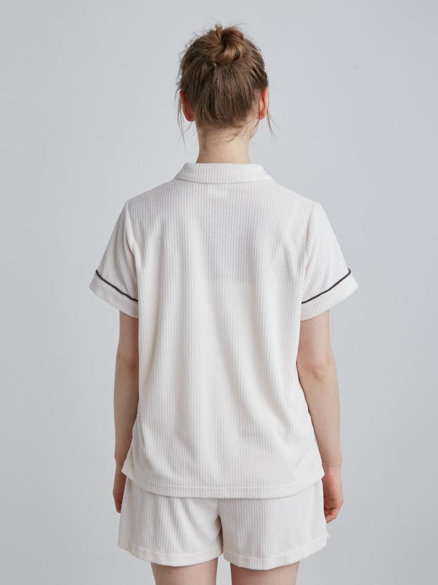 パイルリブ半袖シャツ | PWCT214216