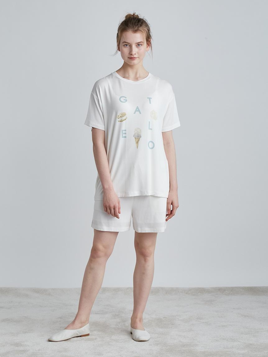 アイスロゴワンポイントTシャツ | PWCT214240