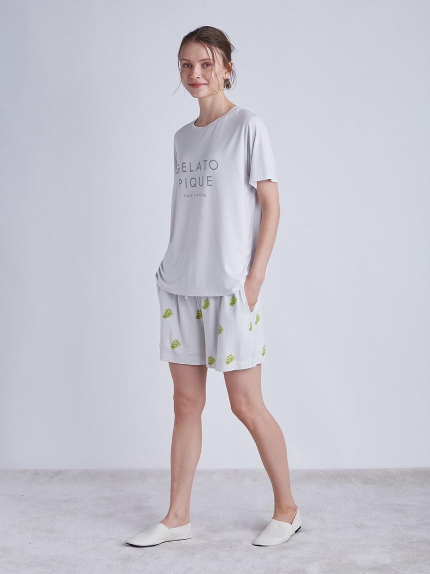 フルーツロゴモチーフTシャツ   PWCT214244