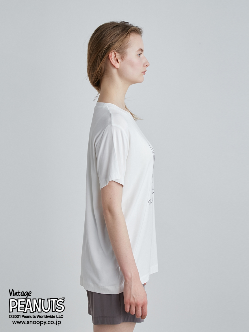 【PEANUTS】プリントTシャツ | PWCT214313
