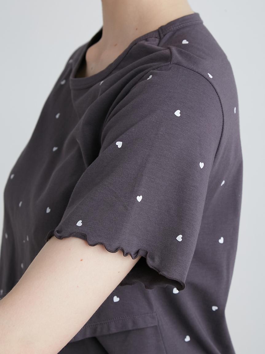 【ONLINE限定】マタニティハートモチーフ授乳用プルオーバー | PWCT214322