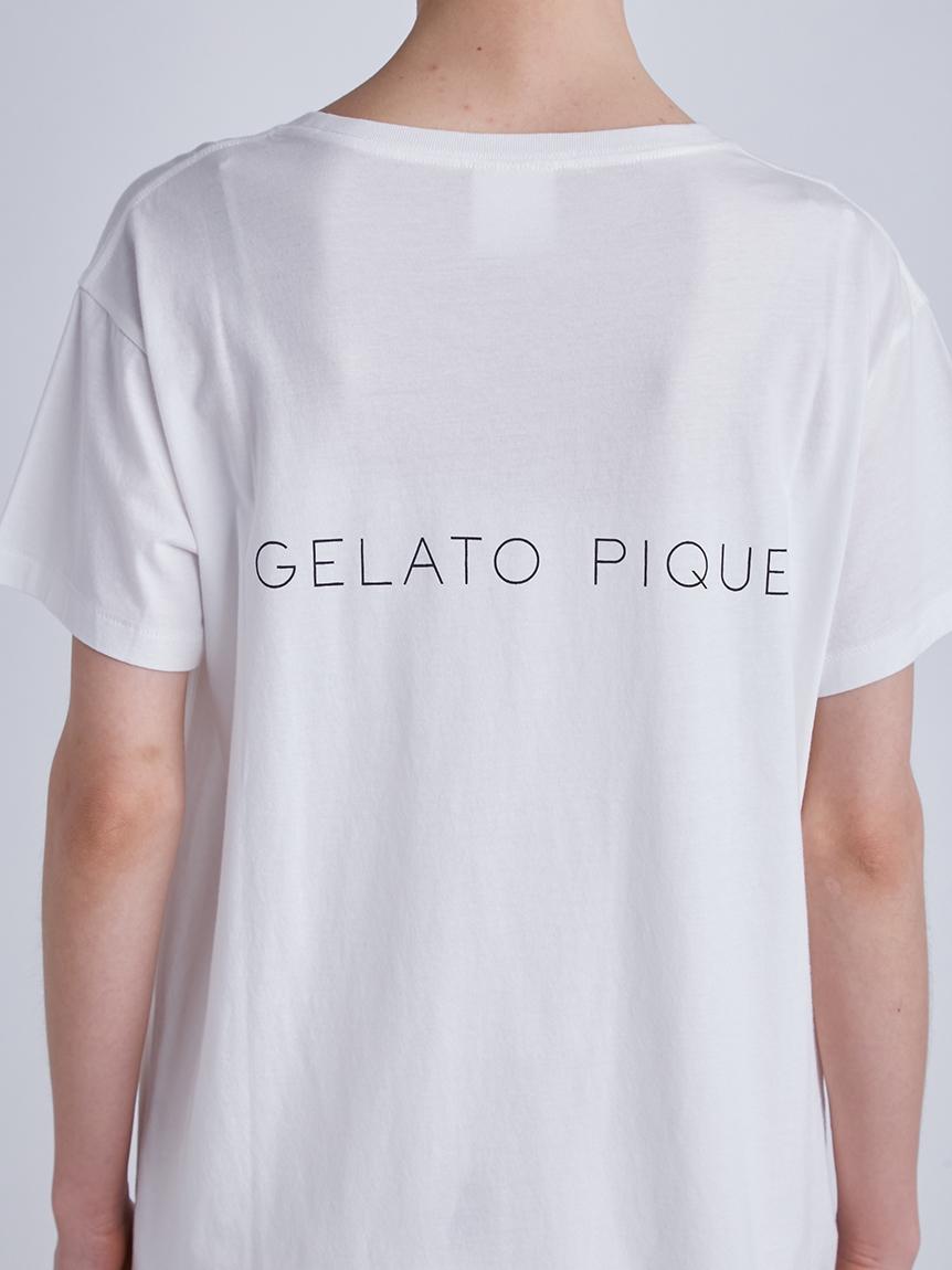 DOGワンポイントTシャツ   PWCT214338
