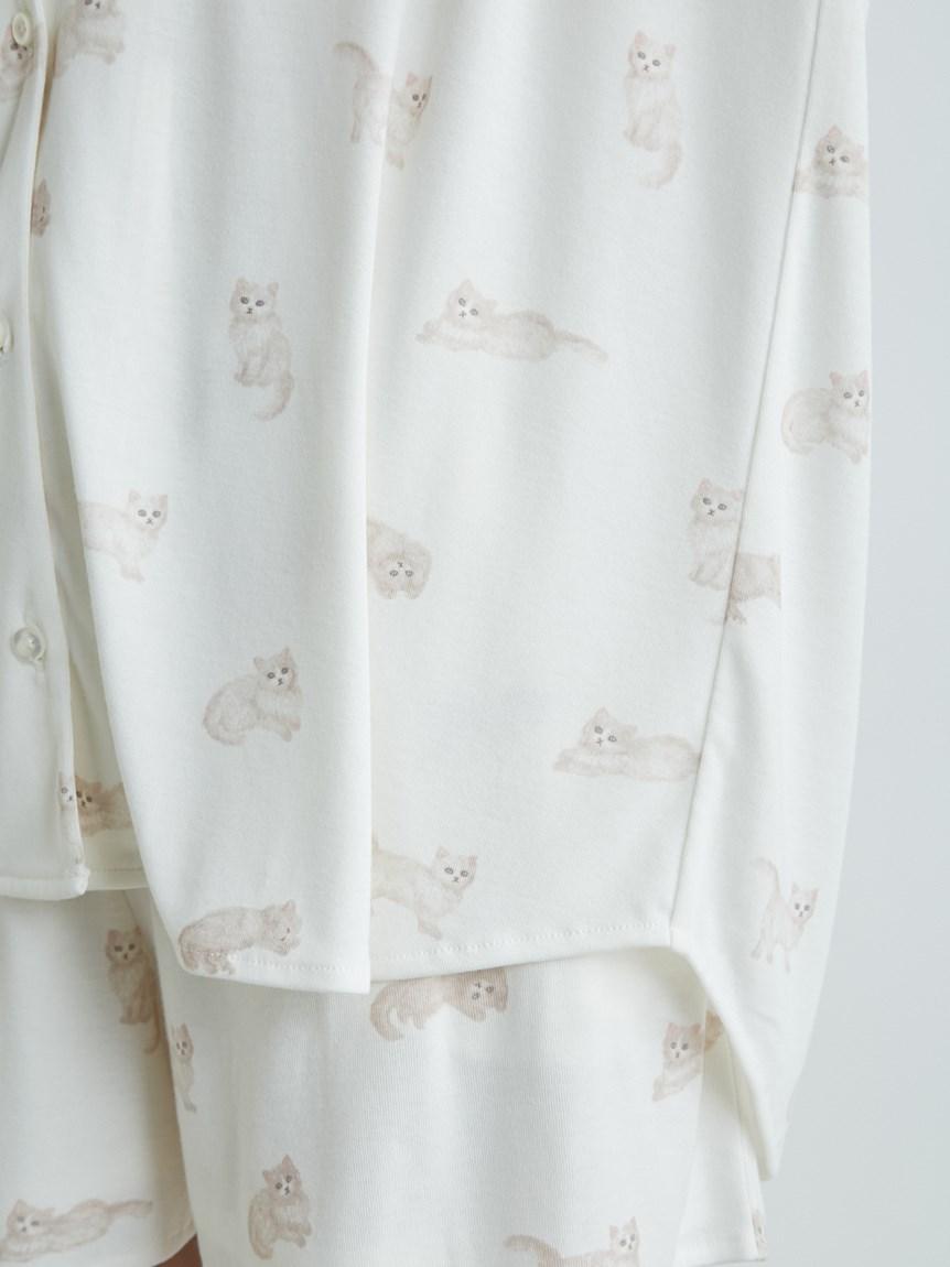 ネコ柄シャツ | PWCT215206