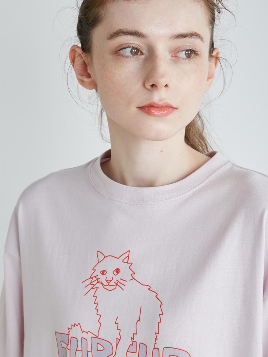【FURFUR×gelato pique】アブストラクトTシャツ   PWCT215268