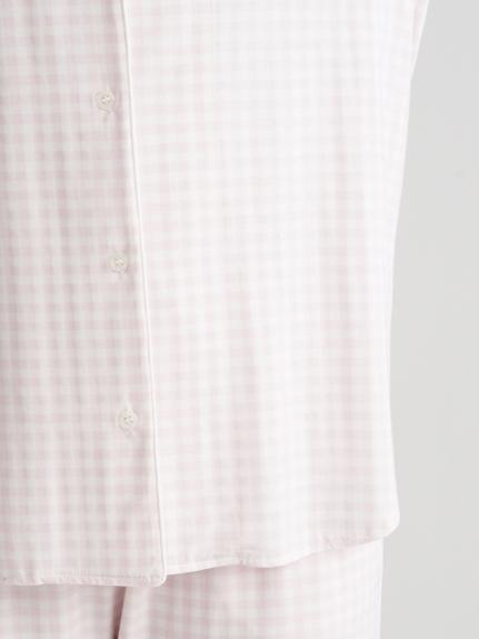 【ラッピング】ギンガムモダールシャツ&ショートパンツSET | PWCT219073