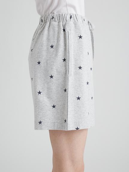 【ラッピング】ロゴスター柄ワンポイントTシャツ&ショートパンツSET   PWCT219119