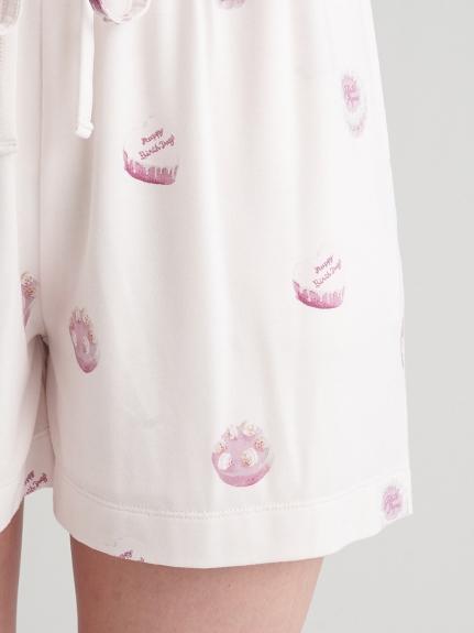 【ラッピング】ホールケーキ柄Tシャツ&ショートパンツSET | PWCT219124