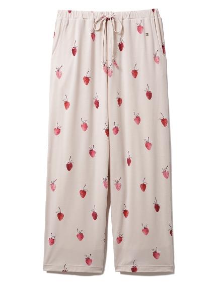 【ラッピング】ストロベリー柄Tシャツ&ロングパンツSET | PWCT219125