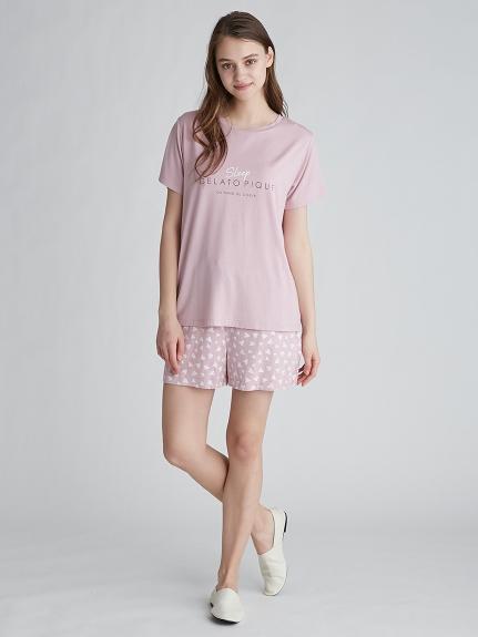 【ラッピング】カラーワンポイントTシャツ&ショートパンツSET | PWCT219151