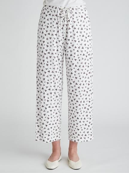 【ラッピング】カラーワンポイントTシャツ&ロングパンツSET   PWCT219152