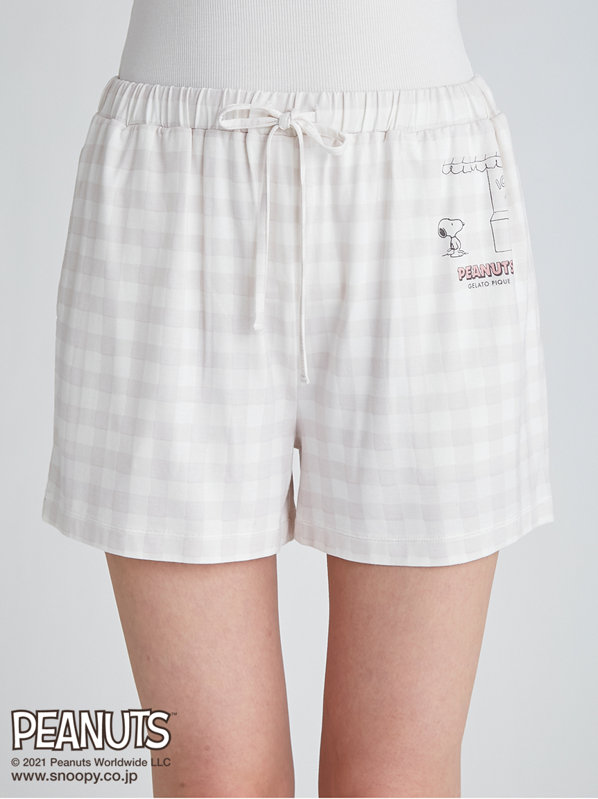 【ラッピング】【PEANUTS】ワンポイントTシャツ&ショートパンツSET | PWCT219236