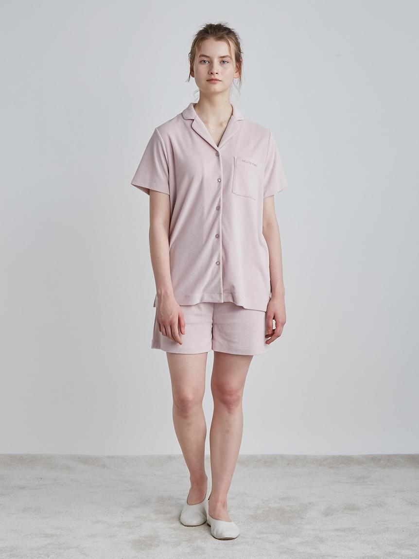 【ラッピング】パイル半袖シャツ&ショートパンツSET | PWCT219283