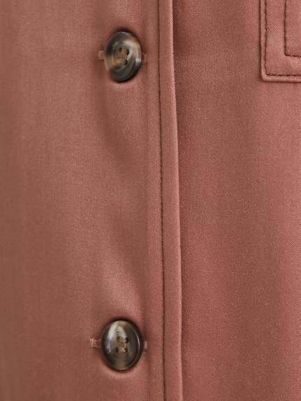 サテンステッチシャツロンパース | PWFO211233