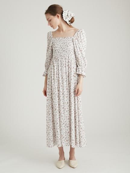 リトルフラワーロングドレス | PWFO211366