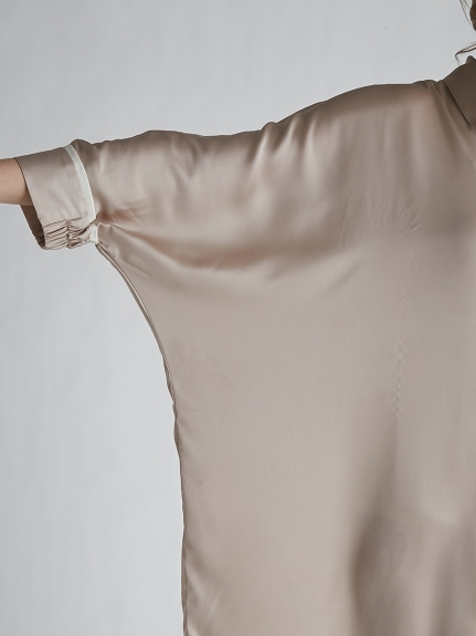 サテンラインシャツドレス | PWFO212248