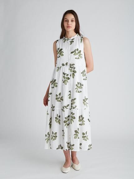 ジャスミンモチーフノースリーブドレス | PWFO212300