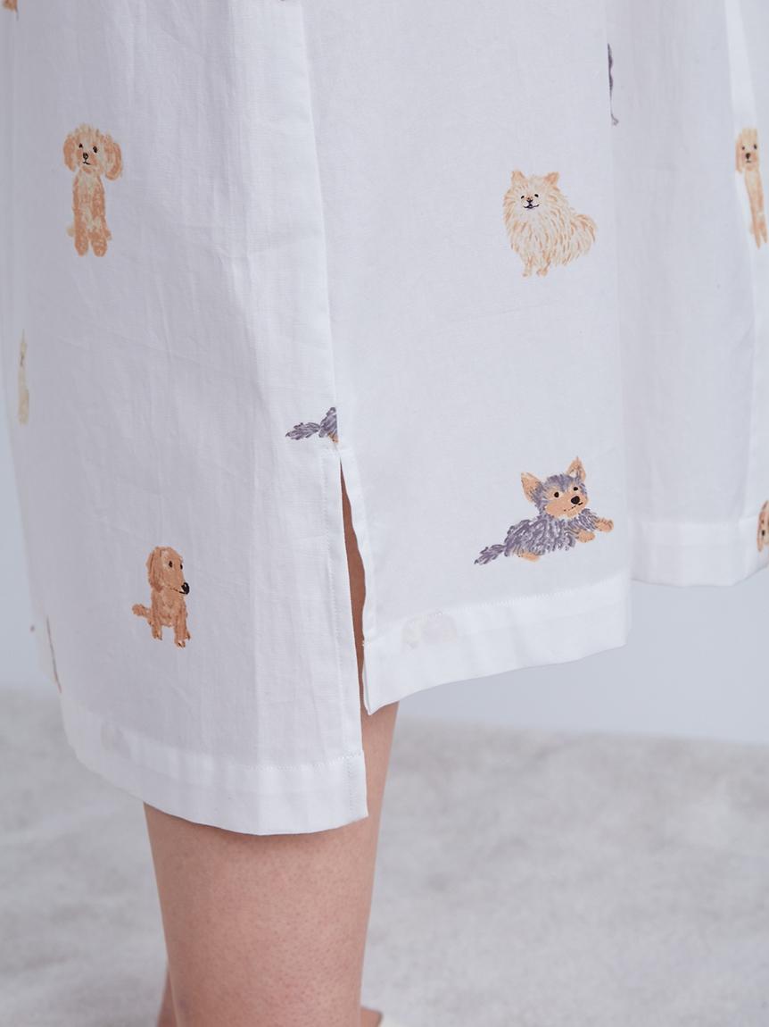 DOGモチーフドレス | PWFO214288
