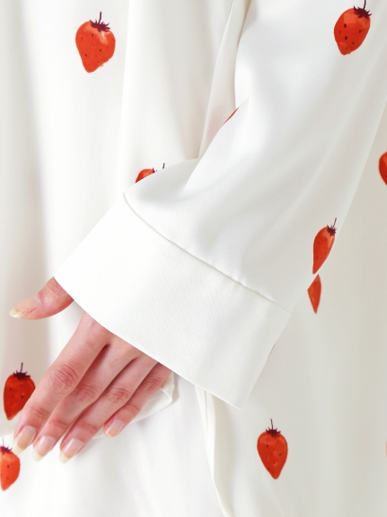 【PARIYA】イチゴサテンシャツ | PWFT204219