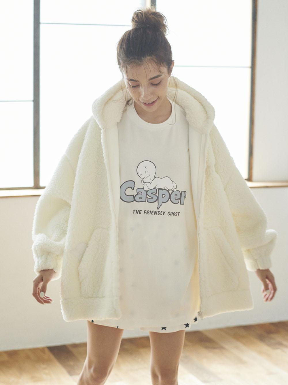 【CASPER】ボアパーカ   PWFT204334