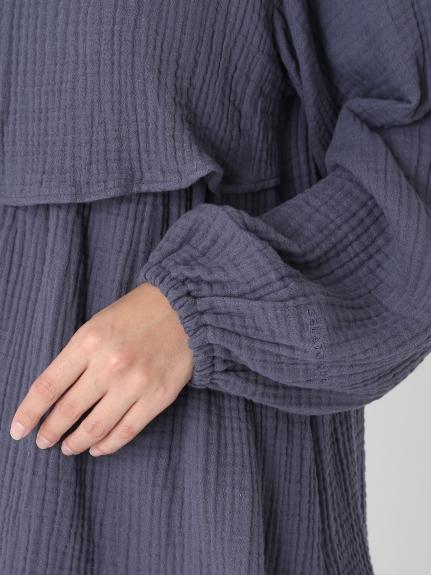 【ONLINE限定】トリプルガーゼマタニティ授乳プルオーバー | PWFT205261