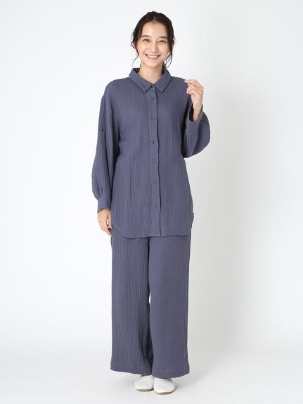 【ONLINE限定】トリプルガーゼマタニティシャツ | PWFT205263