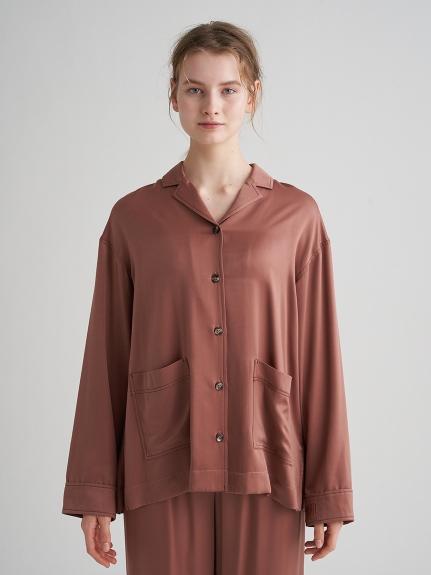 サテンステッチシャツ | PWFT211231