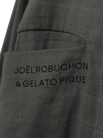 【Joel Robuchon & gelato pique】ガーゼシャツ | PWFT211802