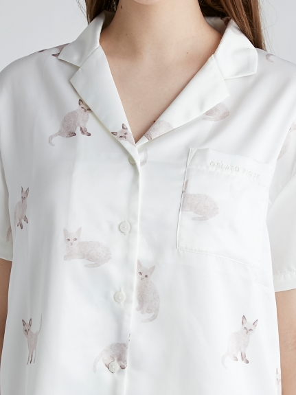 セルカークレックスモチーフシャツ | PWFT212276