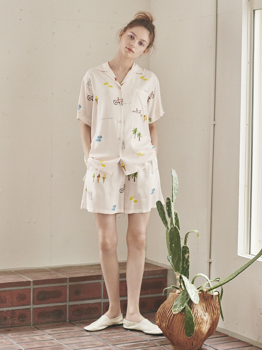 サマーモチーフシャツ | PWFT212348