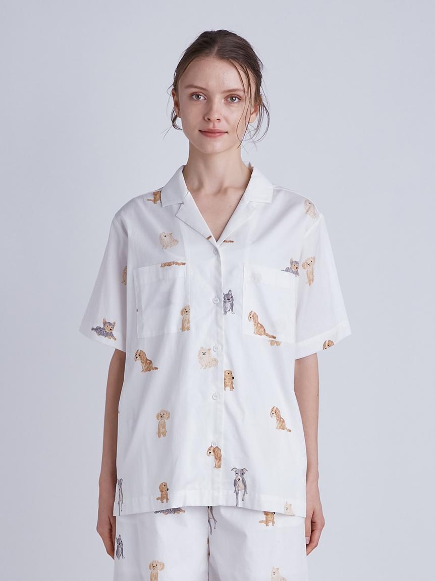 DOGモチーフシャツ | PWFT214285