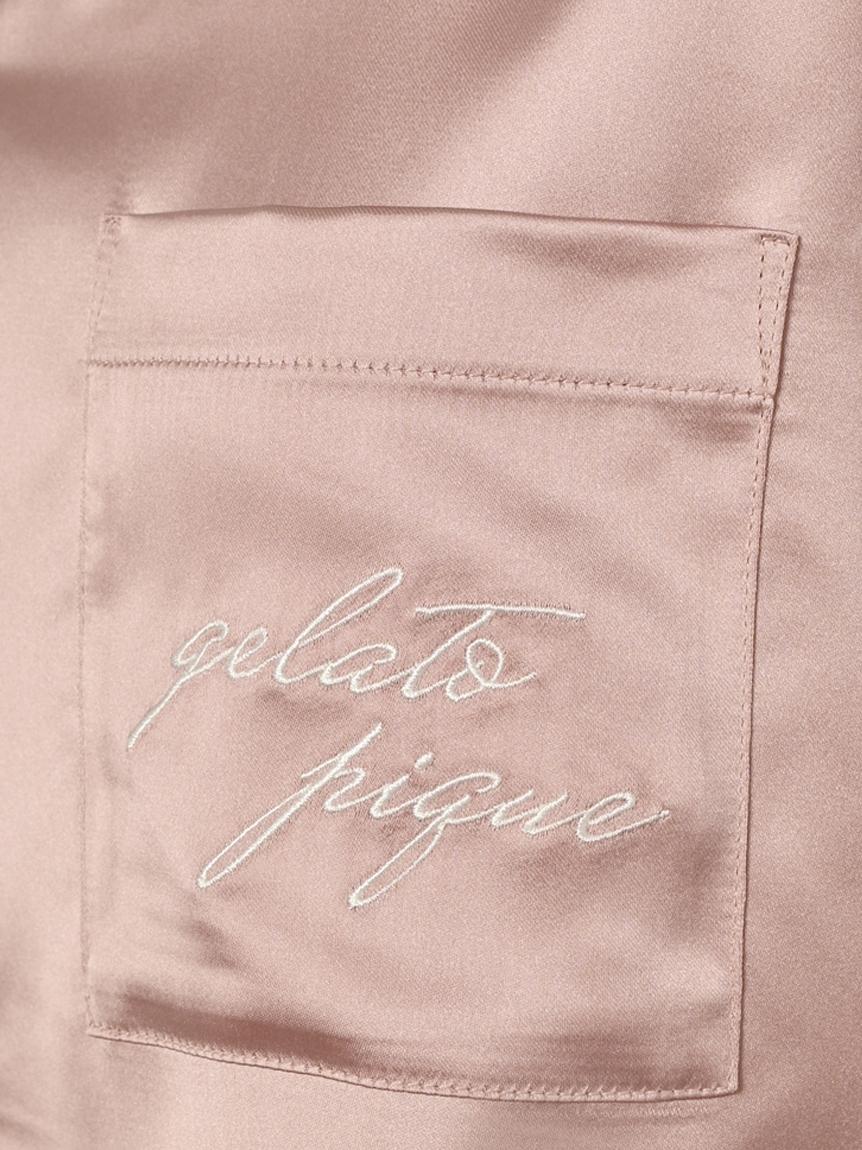 ロゴサテンシャツ   PWFT214355