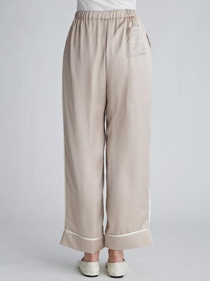 【ラッピング】サテンラインシャツ&ロングパンツSET | PWFT219149