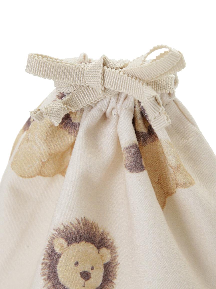 【オフィシャルオンラインストア限定】アニマル柄巾着S | PWGB211593