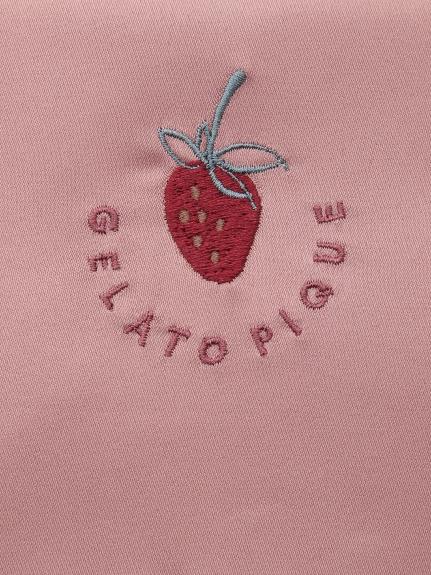 ストロベリー刺繍ティッシュポーチ | PWGB211669